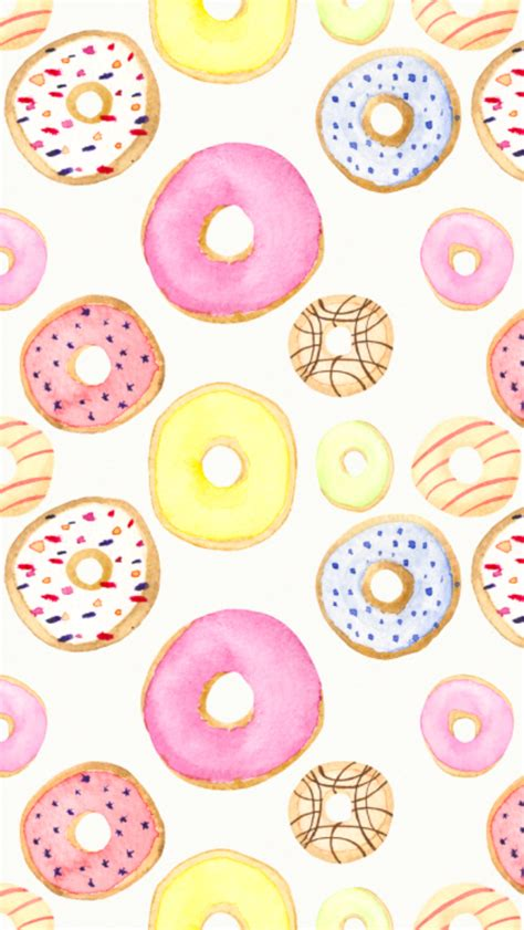 pastel donut pattern donuts patterns pinterest donuts wallpaper and phone