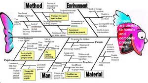 cause and effect diagram fish bone quality improvement