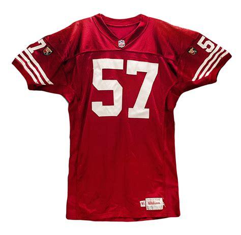 www jersey lot detail 1995 rickey jackson game worn san francisco