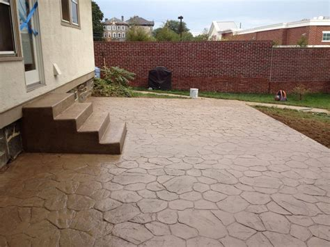 Stamped Concrete Delaware County PA   DiFelice Stamped