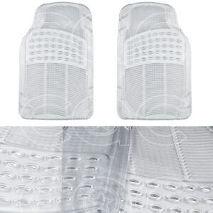 clear vinyl floor mats for cars clear rubber car floor mats front 2 set all weather
