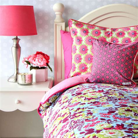lime green and pink bedding beautiful pink decoration