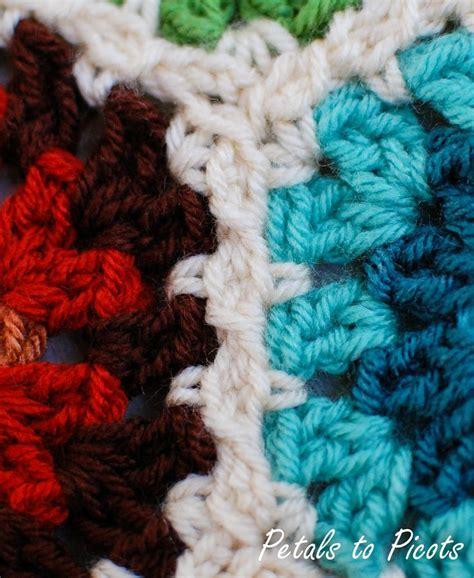 crochet pattern join crochet crochet hexagon pattern join as you go flats