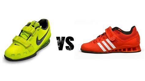 adidas adipowers vs nike romaleos 2 review