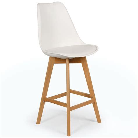 les chaises hautes chaise haute scandinave orna blanc lot de 4