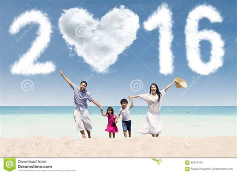 new year family family celebrate new year of 2016 on stock photo image 60344119