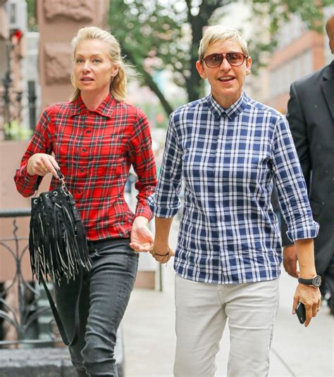 degeneres divorce portia finally new report claims portia splitting