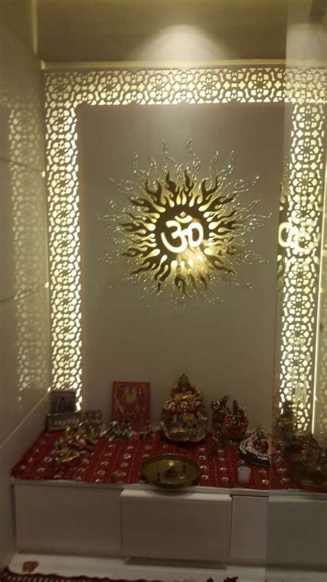home temple interior design mandir for hindu family s in corian stone mandir s