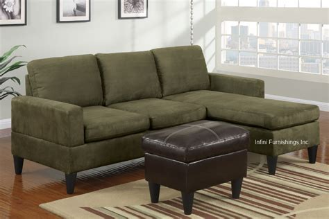 sage green sofas small sage green microfiber sectional sofa and ottoman set