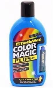 turtle wax color back turtle wax light blue color magic plus 500ml fg4091