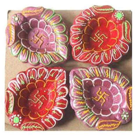 Handmade Diwali Decorations - diya decoration ideas diwali diya decoration deepawali