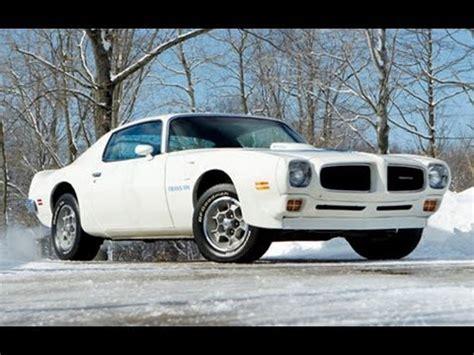 1973 pontiac firebird trans am super duty 455 $165,000