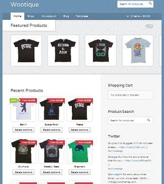 ecommerce theme create an online store for free with