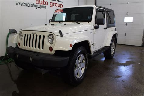 honda jeep 2010 used 2010 jeep wrangler sahara 3 8l 6 cyl 6 spd manual 4x4