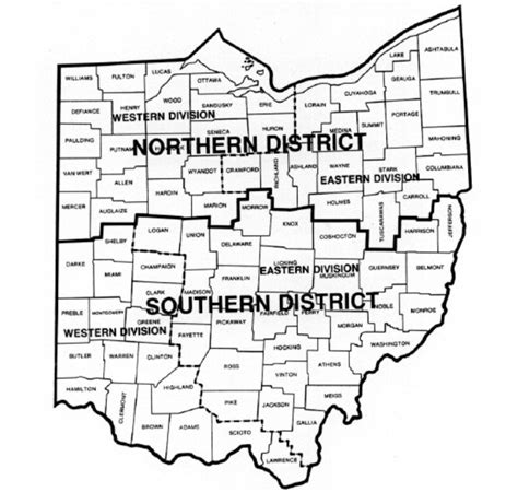 Ohio Federal Court Search File Map Of Ohio Federal Court Districts Jpg Wikimedia Commons