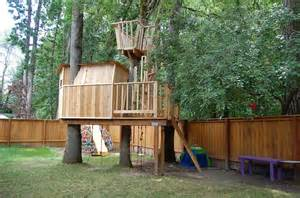 backyard fort for the tree fort backyard