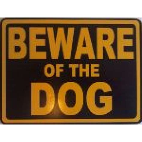 beware the dog house beware of the dog square sign
