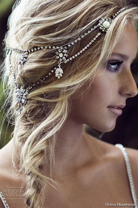 Wedding Hair Pieces by Headpieces W Label Bridal Hair Accessories