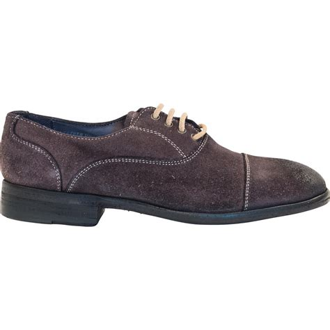 grey oxford shoes natalie dip dyed graphite grey suede oxford shoes