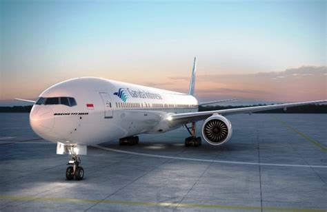 Tas Travel Kit Garuda Air Line Terlaris garuda s b777 300er aircraft is equipped with wi fi live