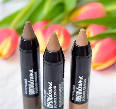 Maybelline Brow Pomade Crayon brow gel archives the luxe list