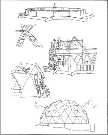 how geodesic dome is made material, making, history