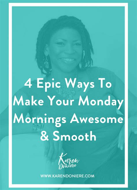 7 Ways To Survive A Monday 2 by 4 Epic Ways To Make Your Monday Morning Awesome And Smooth
