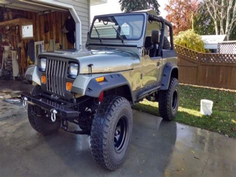 Used Jeeps For Sale In Michigan Purchase Used Jeep Wrangler Custom In Gilford Michigan