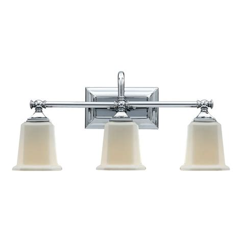 Quoizel Vanity Light Shop Quoizel Nicholas 3 Light 10 In Polished Chrome Bell