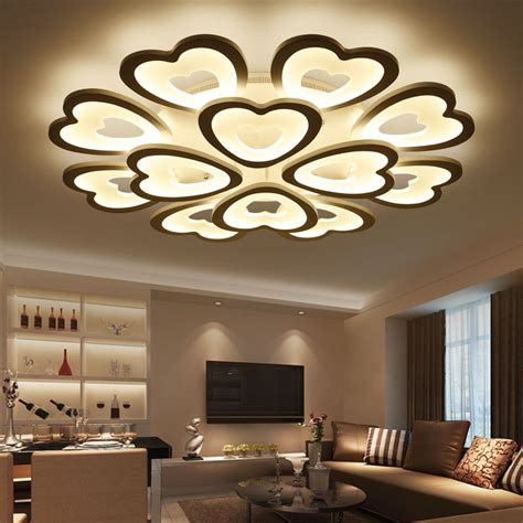 Modern Ceiling Lights For Living Room Aliexpress Buy Modern Led Ceiling Lights For Living Room Bedroom Ceiling L Acrylic
