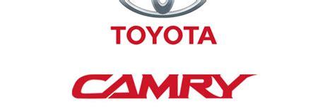toyota camry logo car models font and logo car models list