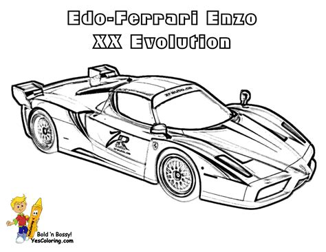 coloring pages ferrari cars ferrari colouring pages