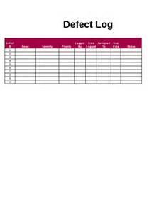 defect report template xls defect log template bug tracking spreadsheet software
