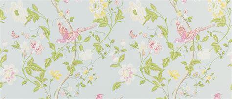 flower wallpaper laura ashley summer palace duck egg floral wallpaper laura ashley