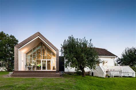 una casa green con tetto a doppia falda mansarda it