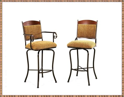 bar stools with back and arms that swivel swivel bar stools with back and armrest swivel bar