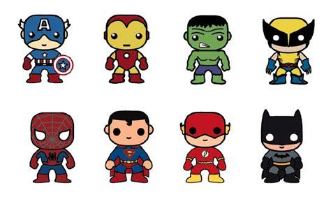 How To Draw Mini Superheroes mini heroes imagui