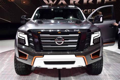 nissan truck 2018 2018 nissan titan warrior concept photos and info 2018