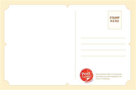 Kartu Pos 310 Post Traveller Custom Postcard Kartu Pos Dibuat Menurut