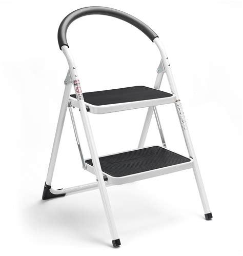 2 Step Stool Ladder by Delxo 2 Step Ladder Folding Step Stool Steel Stepladders