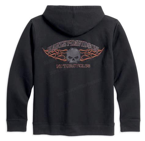 Jaket Zipper Hoodie Harleydavidson Motorcycle 99077 13vm harley davidson 174 mens burning skull zip