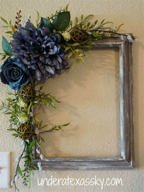 decorating ideas for wire wreaths frames picture frame wreath a sky
