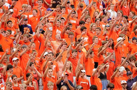 clemson student section traditions about clemson university south carolina