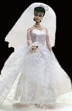 vintage barbie wedding day set