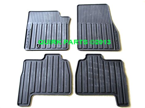 Lincoln Navigator Floor Mats by 2007 2010 Lincoln Navigator All Weather Rubber Vinyl Floor