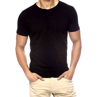 T Shirt Black Color black color half t shirt with attractive packing buy
