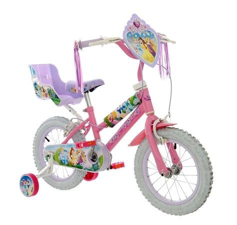 disney princess doll seat for bike disney princess pink 14 quot bike with doll carrier