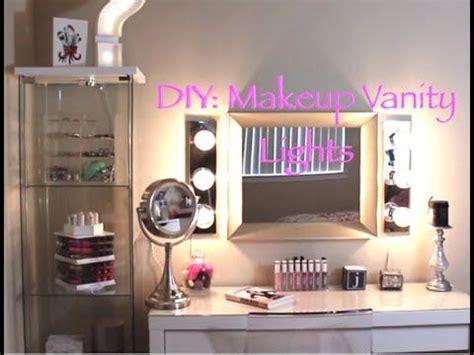 Diy Vanity Light Mirror by 25 Best Ideas About Diy Vanity Mirror On Diy