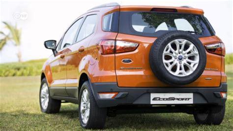 ecosport al volante ford quiere imponer el mini suv ecosport al volante