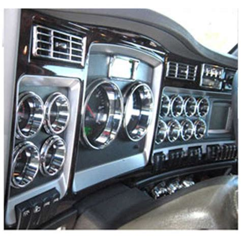 kenworth chrome accessories canada kenworth dash trim big rig chrome shop semi truck chrome